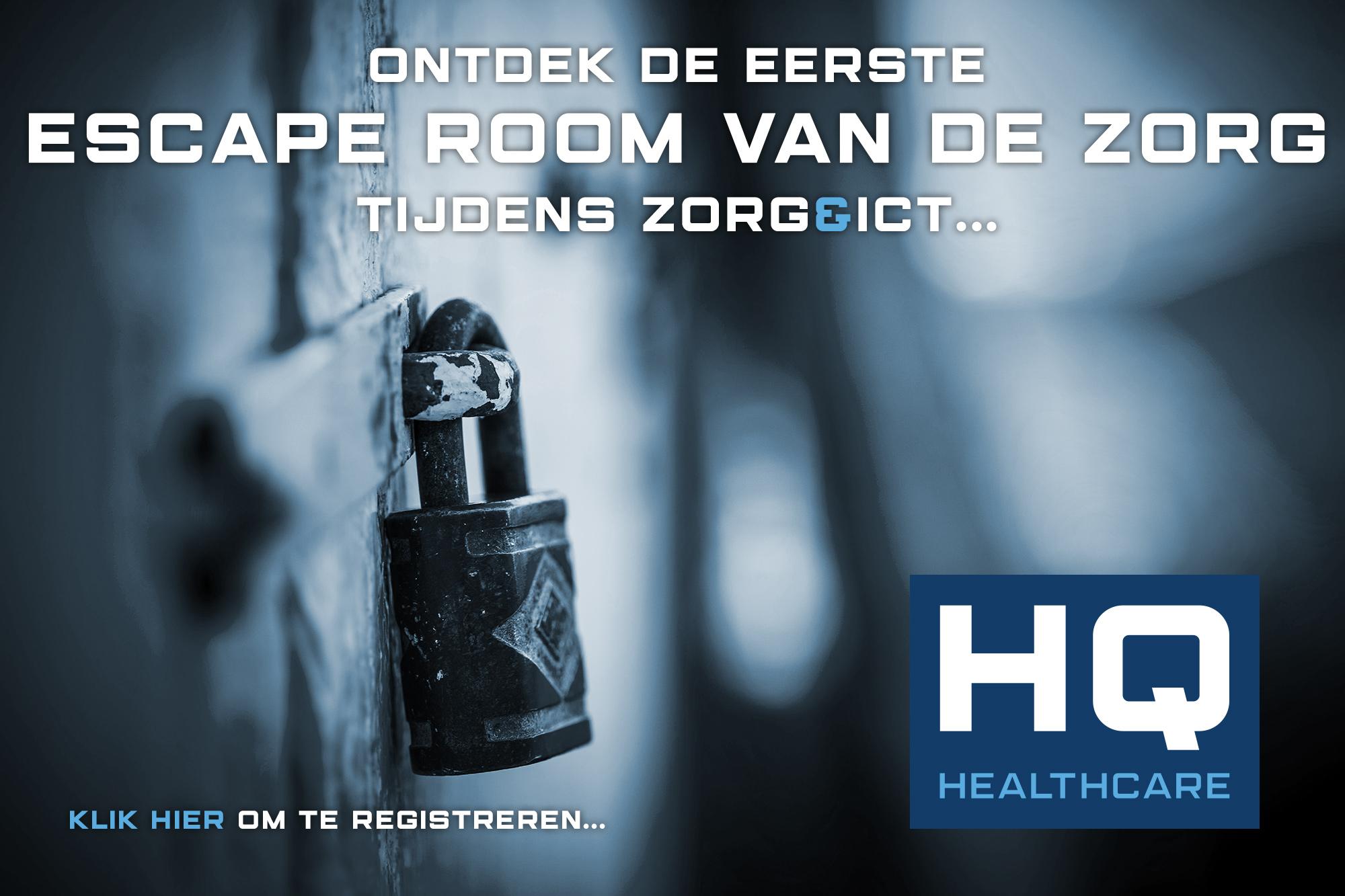 HQ Healthcare Escape room Best bewaarde geheim - Cognicum - HQ-Healthcare