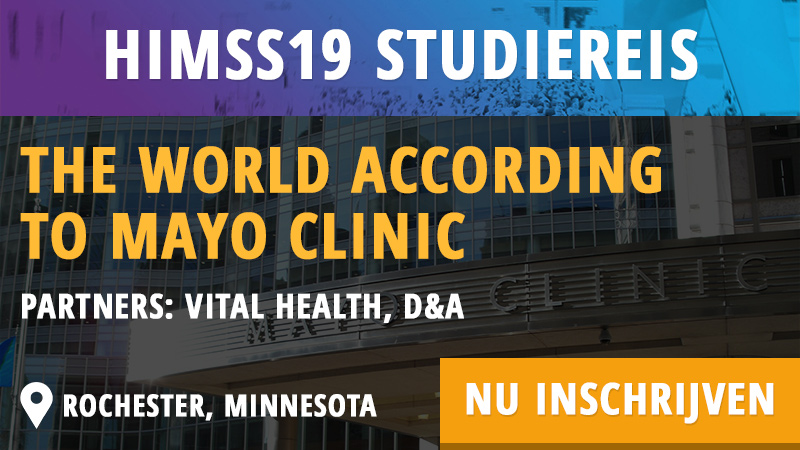 HIMSS19 studiereis - Mayo Clinic - Cognicum - HIMSS Dutch Community