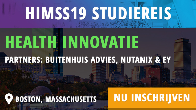 HIMSS19 studiereis - Health Innovatie - Cognicum - HIMSS Dutch Community