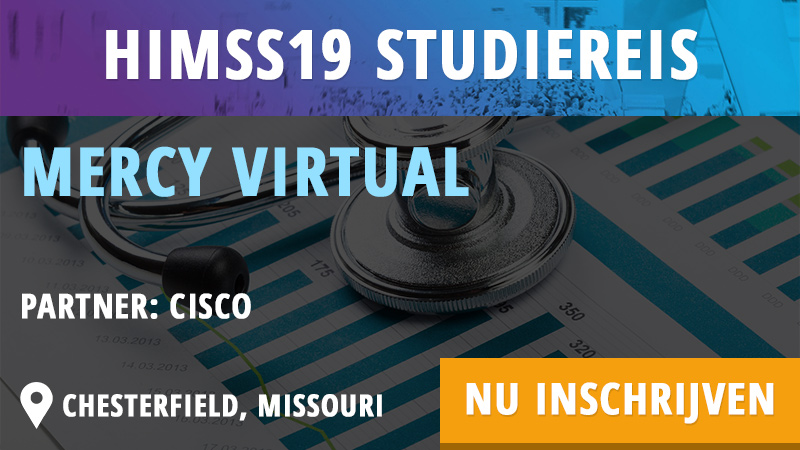 HIMSS19 Studiereis - Mercy Virtual - Cognicum - HIMSS Dutch Community
