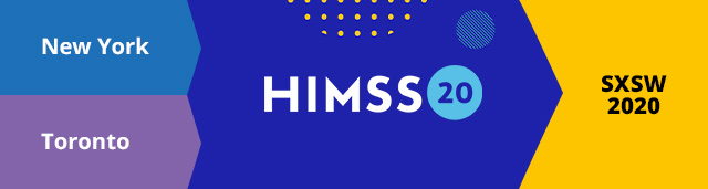 Reiscombinaties HIMSS20 New York Toronto Cognicum